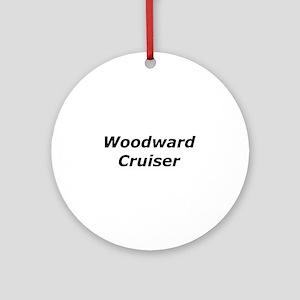 Woodward Cruiser Ornament (Round)