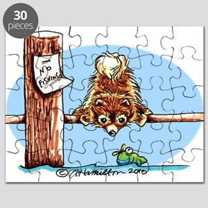 Pomeranian Go Fish Puzzle
