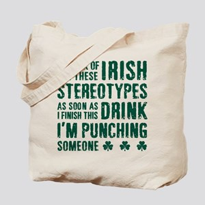 Irish Stereotypes Tote Bag