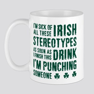 Irish Stereotypes Mug