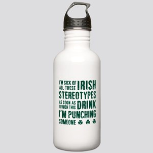Irish Stereotypes Stainless Water Bottle 1.0L