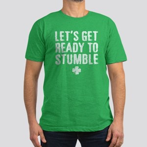 Ready to Stumble Men's Fitted T-Shirt (dark)