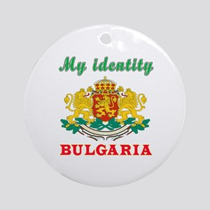 My Identity Bulgaria Ornament (Round)