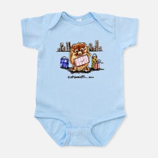 City Pomeranian Infant Bodysuit