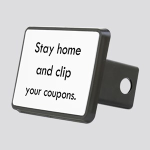 Stay Home and Clip Your Coupons Hitch Cover