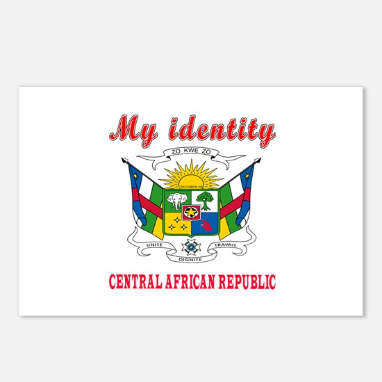 My Identity Central African Republic Postcards (Pa