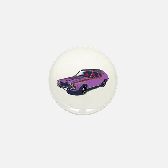 Purple Gremlin Mini Button