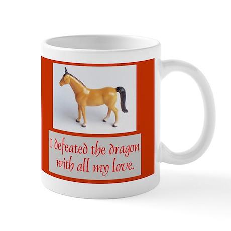 I Defeated The Dragon Mug
