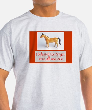 I Defeated The Dragon T-Shirt