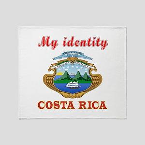 My Identity Costa Rica Throw Blanket