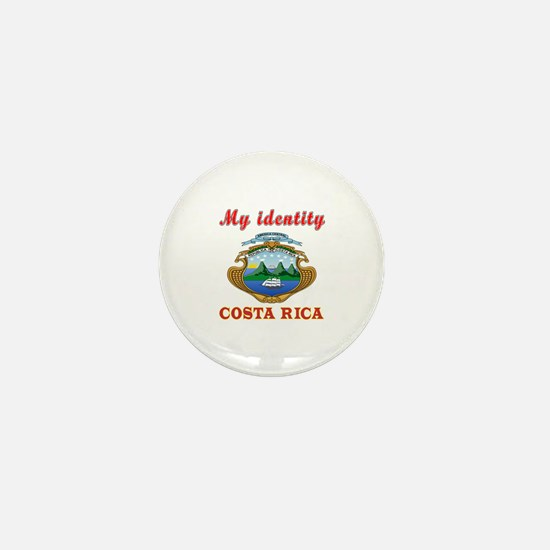 My Identity Costa Rica Mini Button