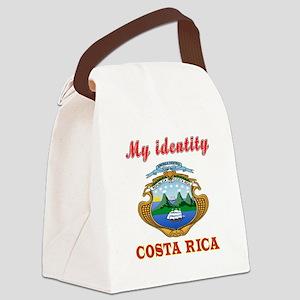 My Identity Costa Rica Canvas Lunch Bag