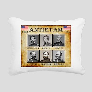 Antietam - Union Rectangular Canvas Pillow