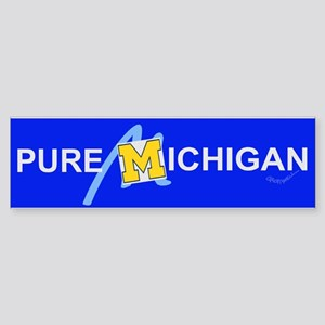 Pure Michigan Bumper Sticker