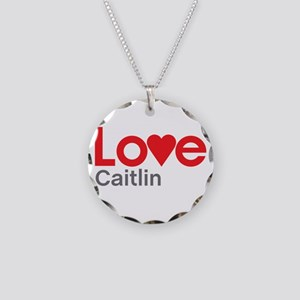I Love Caitlin Necklace