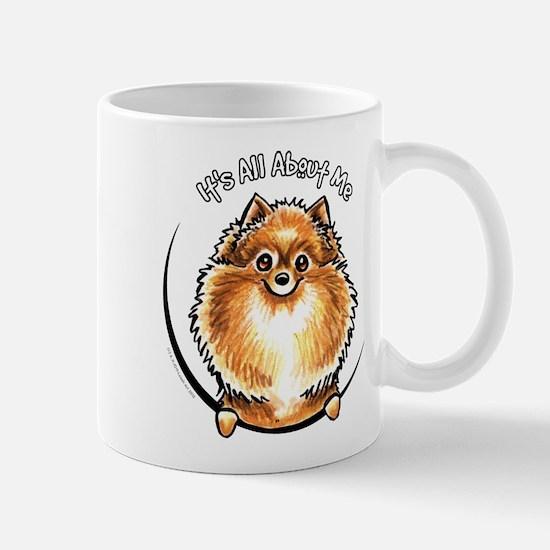 Orange Pomeranian IAAM Mug