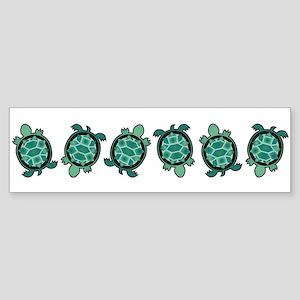 Turtle Town Bumper Sticker