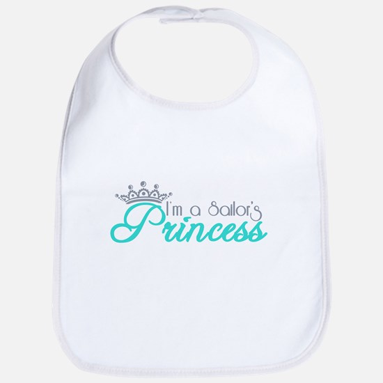 I'm a sailor's Princess!! Bib
