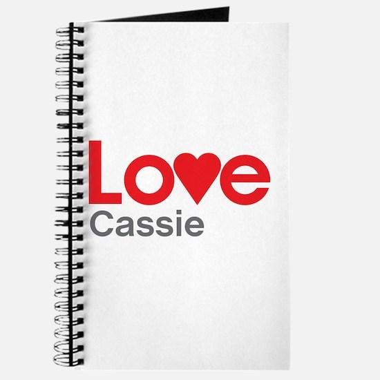 I Love Cassie Journal