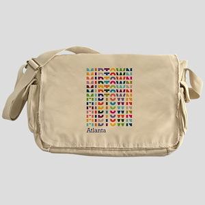 MIDTOWN ATL Pulse Messenger Bag