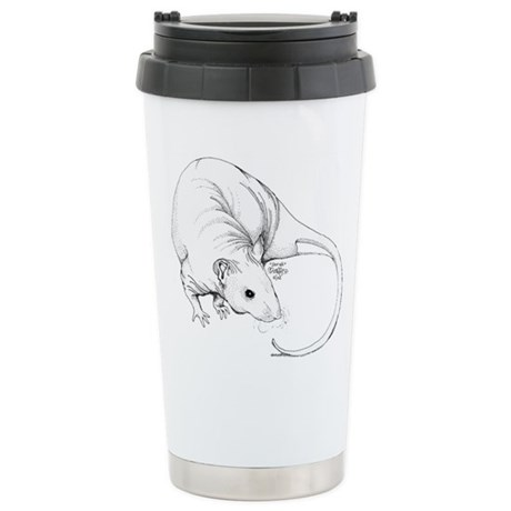 Hairless Rat Travel Mug