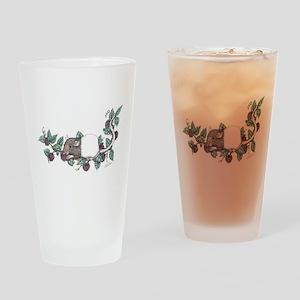 Berries Drinking Glass