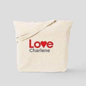 I Love Charlene Tote Bag