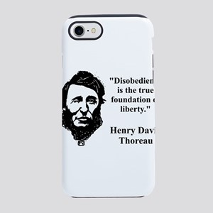 Disobedience Is The True Foundation - Thoreau iPho