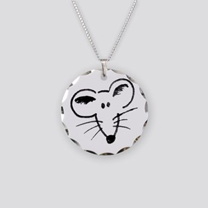 Rat Face Necklace