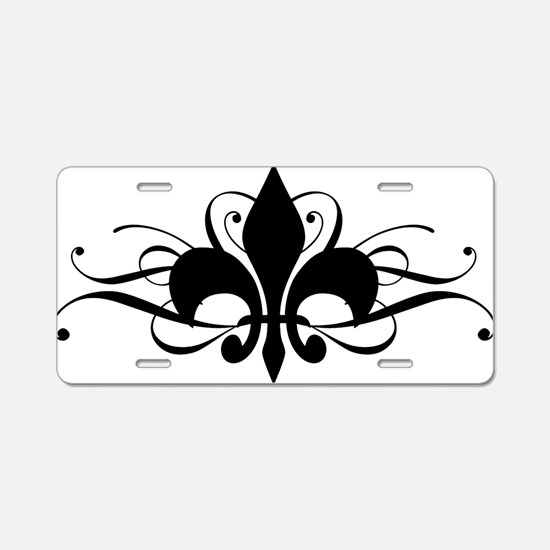 Cute New orleans Aluminum License Plate