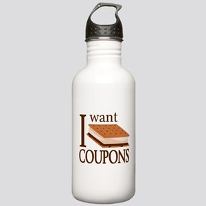 I Want Smore Coupons Water Bottle