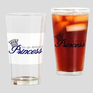 I'm an Airman's Princess Drinking Glass