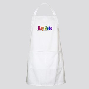 Hey Jude t-shirt front Apron