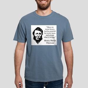 Have No Mean Hours - Thoreau Mens Comfort Colors S