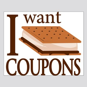 I Want Smore Coupons Posters