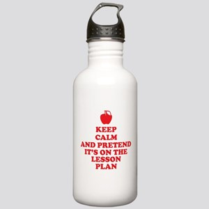 Keep Calm Teachers Water Bottle