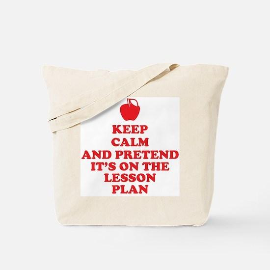 Keep Calm Teachers Tote Bag