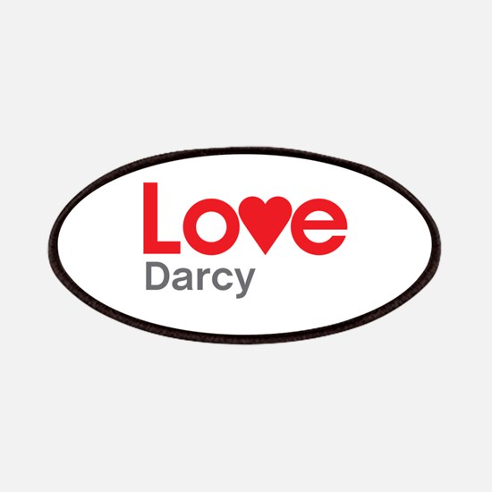 I Love Darcy Patches