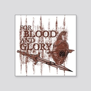 For Blood and Glory Sticker