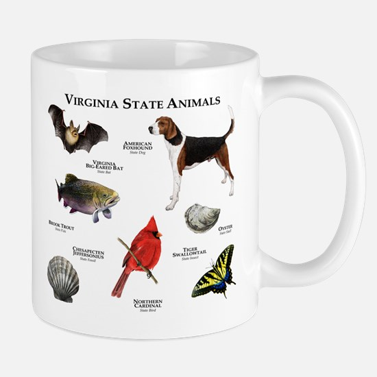 Virginia State Animals Mug