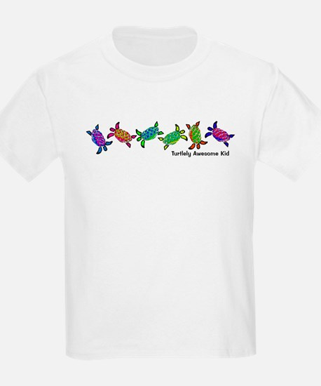 Turtlely Awesome Kid Kids T-Shirt