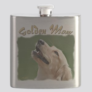 Golden Mom Flask