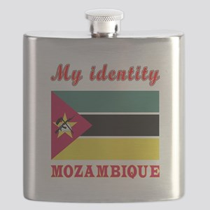 My Identity Mozambique Flask
