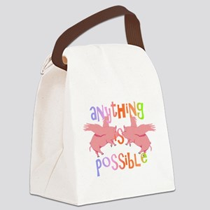 Anything is Possible Canvas Lunch Bag