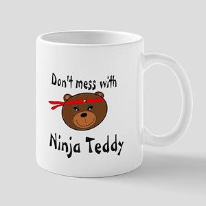 Ninja Teddy Mug