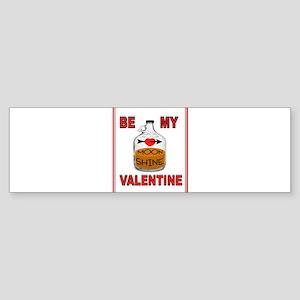 SHINE VALENTINE Bumper Sticker