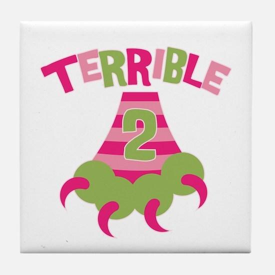 Terrible 2 Monster Tile Coaster