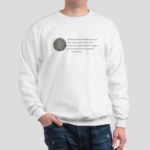 Abraham Lincoln Constitution quotation Sweatshirt