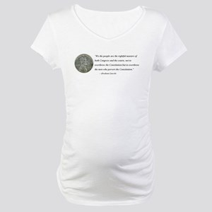 Abraham Lincoln Constitution quotation Maternity T