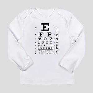 Eye chart gift Long Sleeve Infant T-Shirt